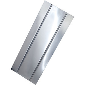 Solfex Aluminium Spreader Plate with 2 Pipe Chanels