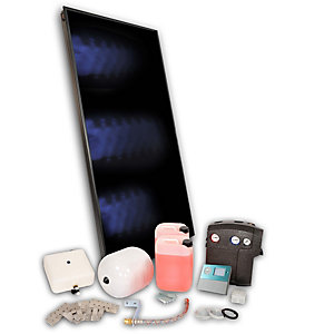 Solfex 1 x  FK250P On Roof Solar Thermal Prestige Pack