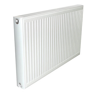 Stelrad Softline Compact Double Panel Single Convector (Type 21 -P+) Radiator 600mm x 1400mm