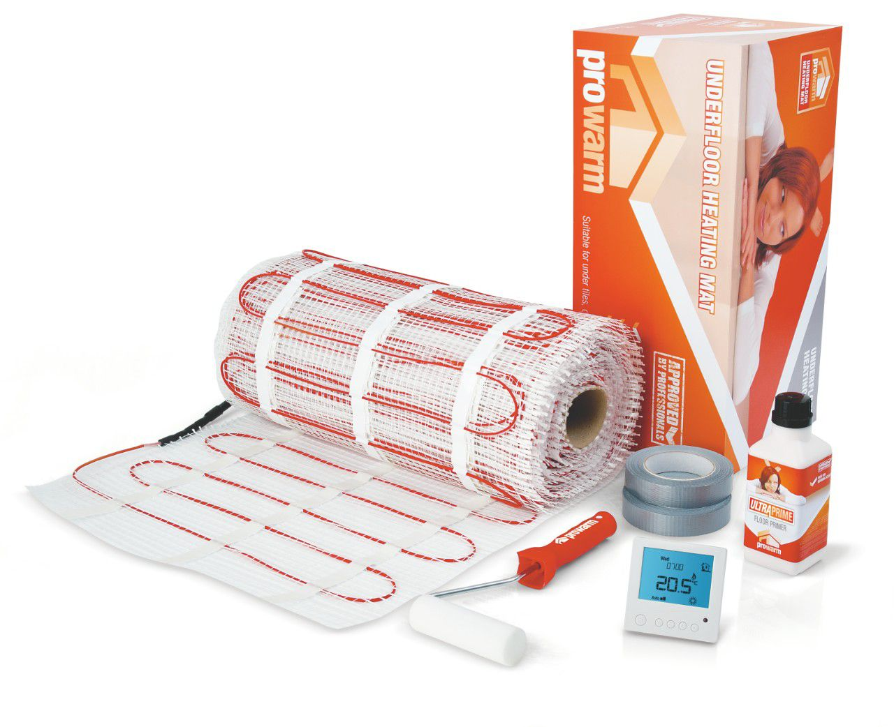 Electric Underfloor Heating Kits