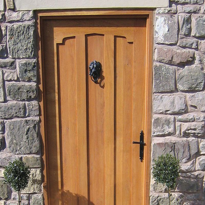 Exterior Solid Wood Doors