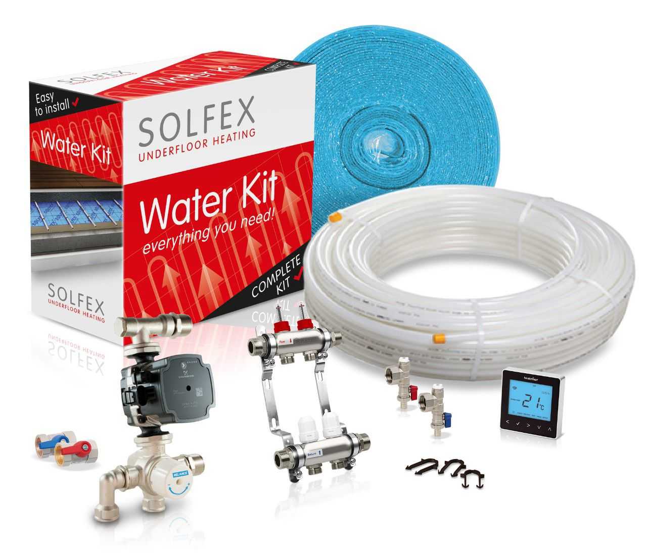 Water Underfloor Heating Kits