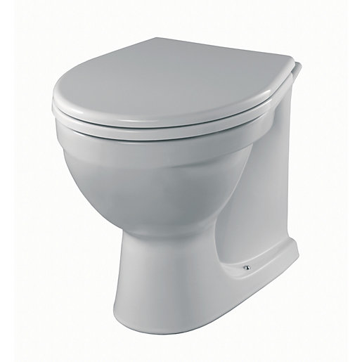 Alcona Back-to-Wall Toilet Pan AR1438WH