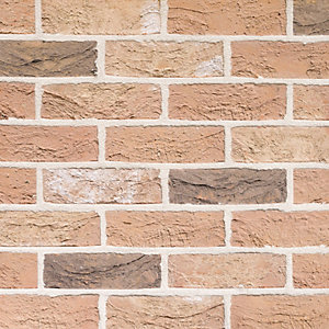 Traditional Brick & Stone Facing Brick Grantchester Blend - Pack of 730