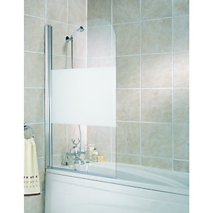 bath screens shower screens wickes atlantes 850 bath screen bathstore
