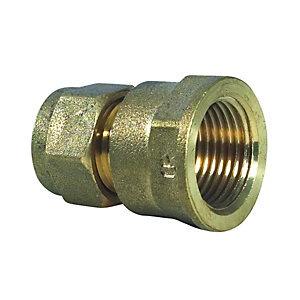 Compression Coupling Fl 15mm x 3/4in - Bag of 10