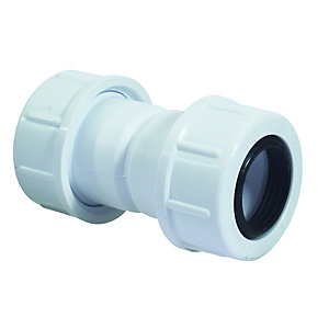 McAlpine R1m-CO Straight Connector 19mm