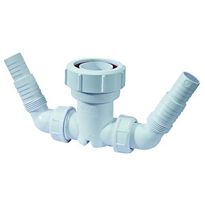 McAlpine V33WM Connection for Standpipe Trap 38mm