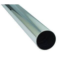 McAlpine Chrome Plated Pipe 35mm x 1000mm