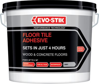 Evo Stik Tile A Floor Fast Set Ready Mixed Tile Adhesive 5l Travis