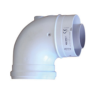 Ideal 203130 V3 90DEGREE Flue Elbow
