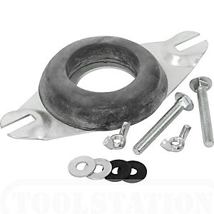 4Trade Close Coupling Kit Plate & Bolts Doughnut Washer
