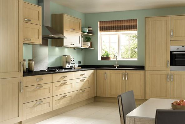 Tulsa Oak Effect Shaker Wickes Co Uk