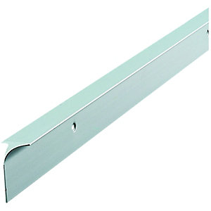 Silver Worktop Aluminium Corner Joint 630mm C30SLP