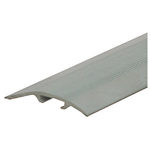 Unika 270 cm Aluminium Threshold Floor Profile Silver