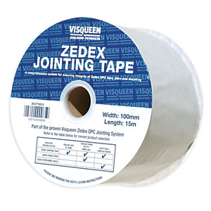 Zedex Dpc Joint Tape 100mm x 15m