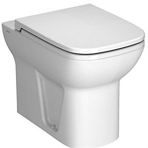 Vitra S20 Back-to-wall Toilet Pan White 5520L003-0075