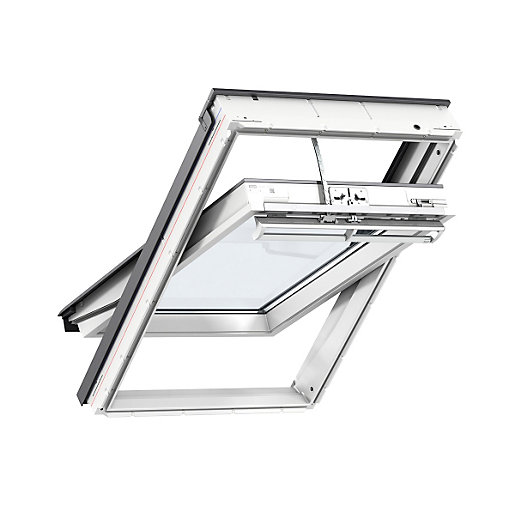 VELUX INTEGRA� Electric Roof Window 550mm x 1180mm White Polyurethane GGU CK06 007021U