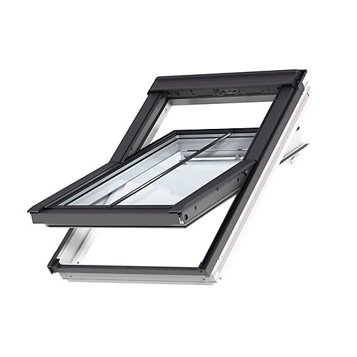 VELUX Conservation Centre Pivot Roof Window and Flashing 550mm x 980mm GGL CK04 SD5J2