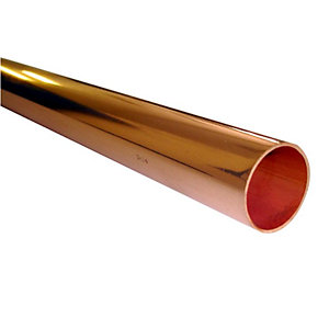 Wednesbury Copper Tube Plain Lengths 15mm x 3m