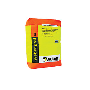 Weber.Pral M Through Colour Monocouche Chalk Render 25kg