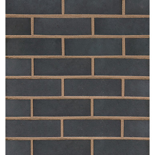 Wienerberger Terca Engineering Brick Blue Perforated Class B 65mm (Pack of 400)