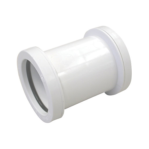 Osma 32mm Pushfit Waste White Double Socket
