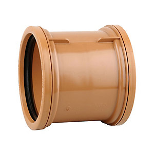 Osmadrain Drainage Double Socket Pipe Coupler 110mm