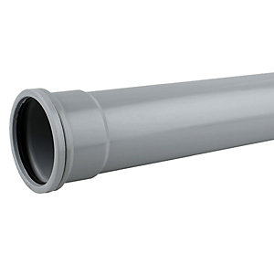OsmaSoil 6S043G 160mm Socketed Pipe Grey 3M