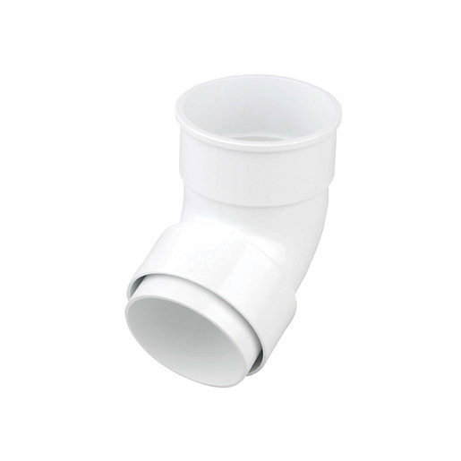 Osma RoundLine 0T025 Offset Bend Socket 68mm White