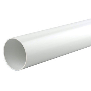 Osma RoundLine 0T086 Pipe 68mm White 2.75M