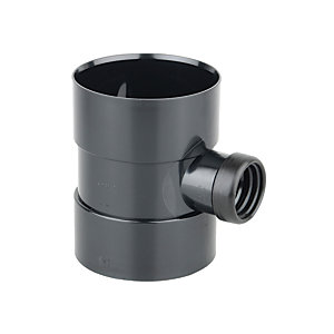 Osmasoil Bossed Pipe Black 110mm
