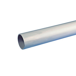 Osma Waste push-fit plain ended pipe grey 32mm