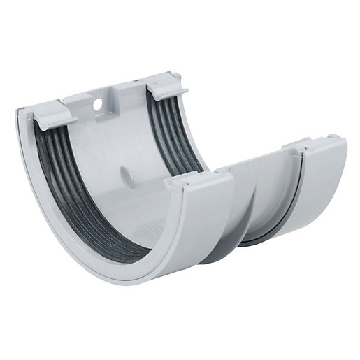 Osma RoundLine 0T005 Gutter Jointing Bracket 112mm Grey