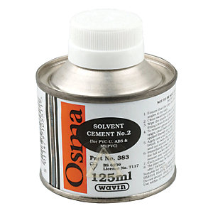 Osma 4S383G Solvent Cement No2 Can 125ml