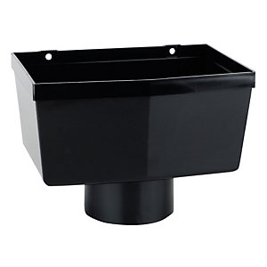 OsmaSoil 4S326B 110mm Hopper Head Black