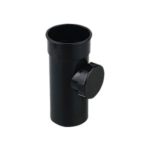 Osma RoundLine 0T274 Access Pipe With Screwed Door 68mm Black
