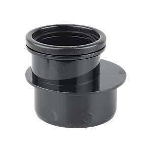 Osmasoil 4S095B Single Socket Reducer Black 110 x 82mm