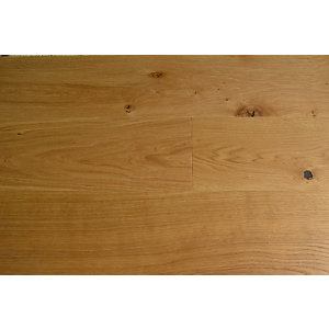 4Trade Engineered 1 Strip Brushed & Oiled Natural Oak G5 Lock 190mm x 22mm
