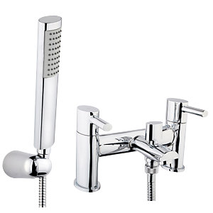 Grohe eurosmart cosmopolitan bath shower mixer deck mounted for Showroom grohe barcelona