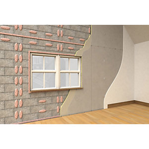 Xtratherm Thermal Liner Dot and Dab Fix 2400 x 1200 x 37.5mm