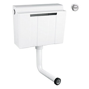 Grohe Adagio Dual Flush Cistern Side Entry 39054000