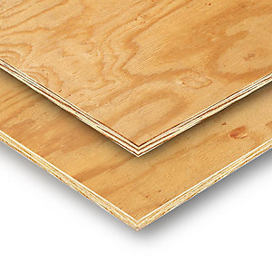 Softwood Shuttering, Sheathing, CDX Plywood 2440mm x 1220mm x 18mm
