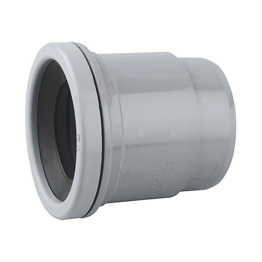 Osmasoil 2S402g Single Socket BOSS Adaptor Grey 50mm