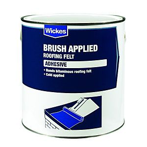 Brush Applied Felt Adhesive