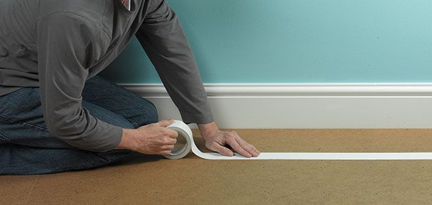 how to fix squeaky floors before laying carpet