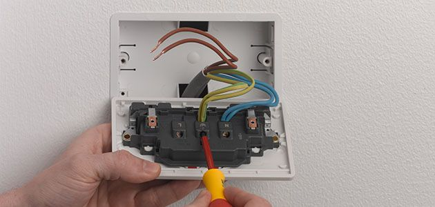 how to change a socket wickes co uk rh wickes co uk Wiring Cat5 Wall Plate Colors Wiring Cat5 Wall Plate Colors