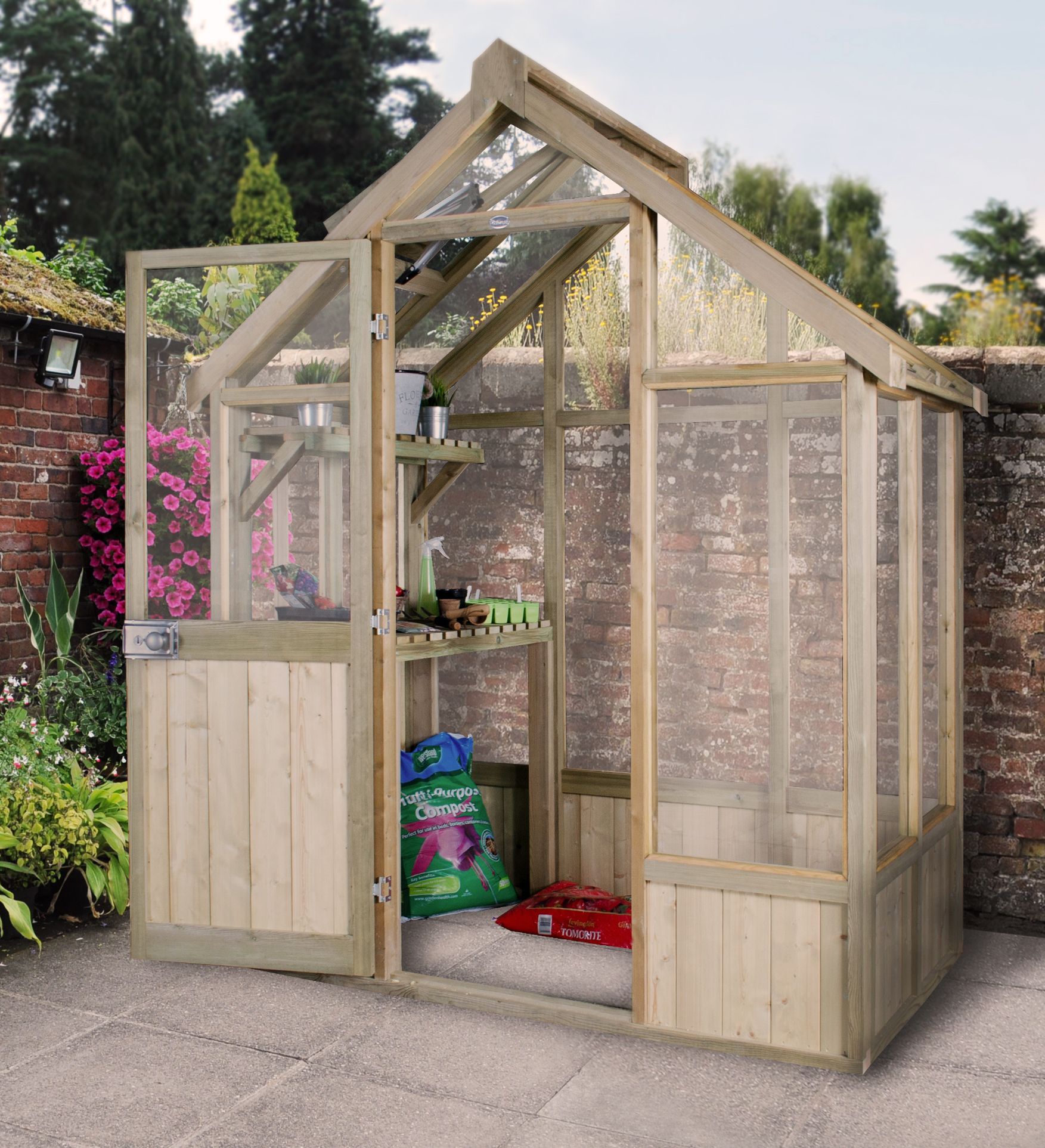 Garden landscaping materials supplies travis perkins travis garden sheds greenhouses baanklon Choice Image