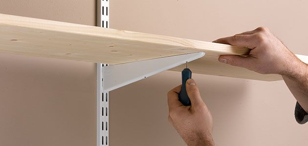 How To Fit Shelves Wickes Co Uk