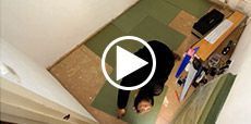 Video guide showing how to lay laminate flooring